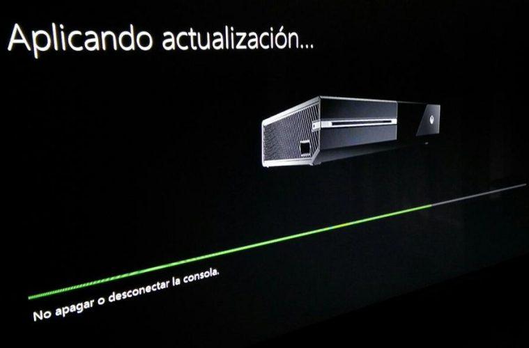 xbox one actualizacion navidad