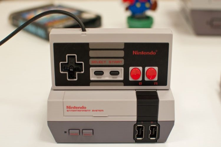 Mando inalámbrico NES mini