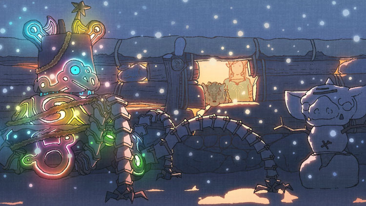 The Legend of Zelda: Breath of the Wild nos felicita la Navidad con nuevo artwork