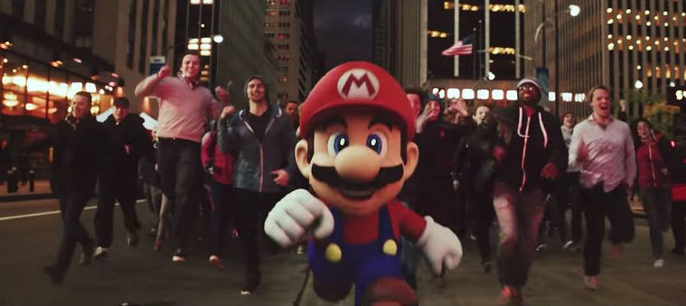 Super Mario Run tráiler acción real
