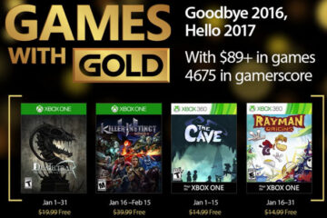 Games with Gold enero 2017