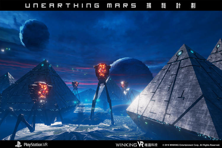 Unearthing mars PS VR