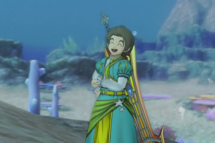 dragon quest x gameplay ps4