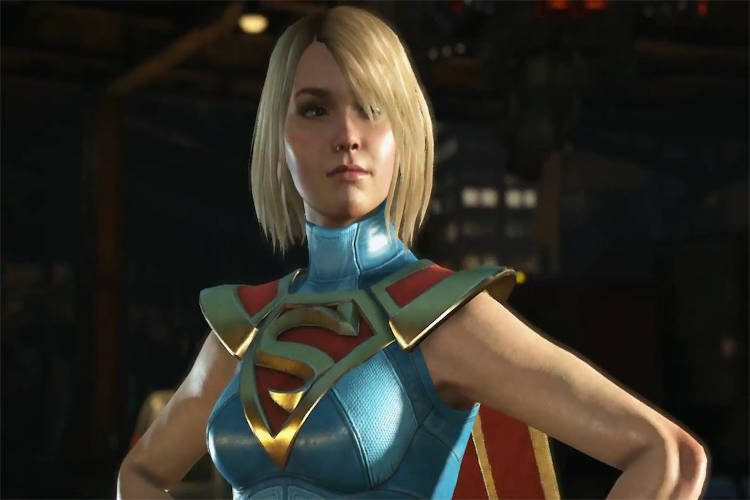 Injustice 2 supergirl