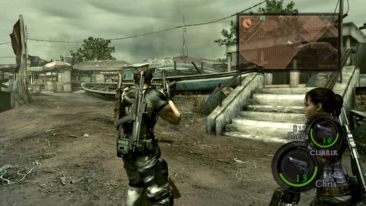 resident evil 5 hd analisis ps4