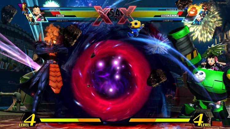 Ultimate Marvel vs. Capcom 3 disponible ya mismo en PlayStation 4