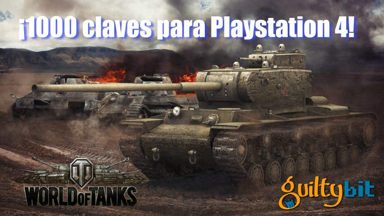 sorteo world of tanks ps4