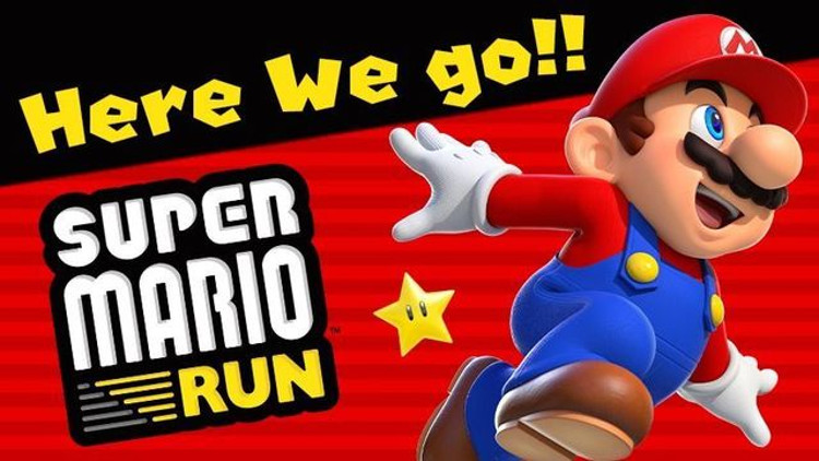 super mario run descargas