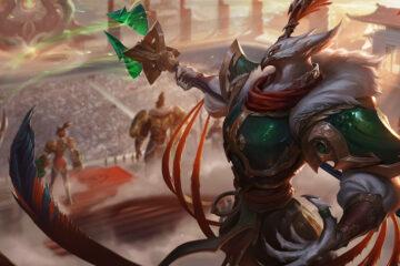 League of legends parche 1.7