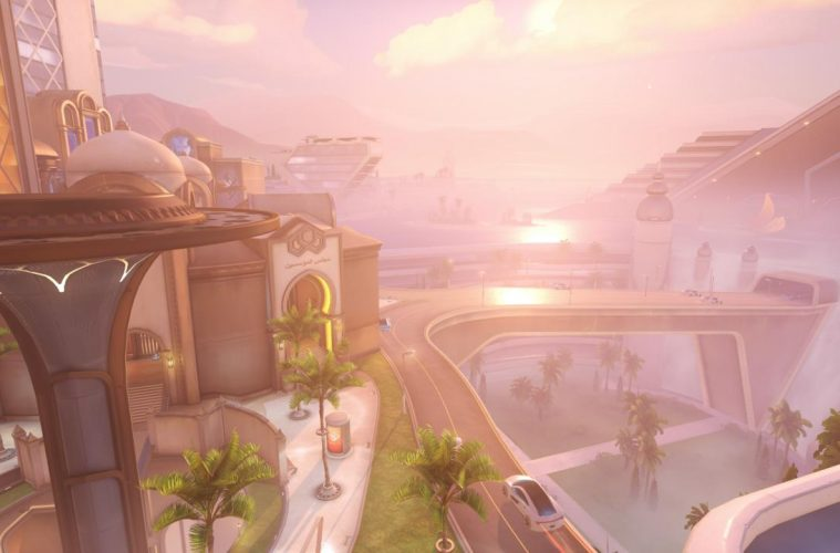Mapa Oasis Overwatch ya disponible