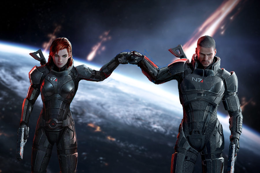 Mass Effect inspiración director Guardianes de la Galaxia Vol. 2