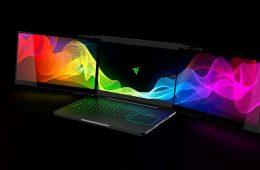 Razer ha presentado su nuevo portátil con tres pantallas