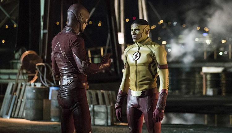 barry west kid flash 3x10