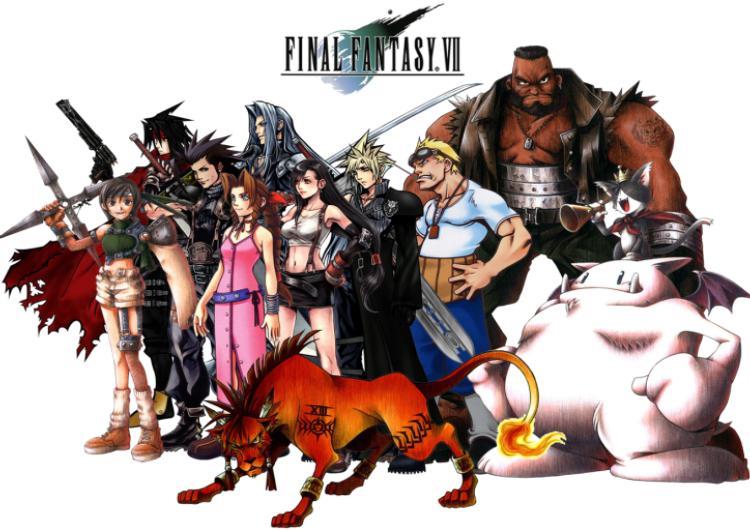 final fantasy 7 aniversario