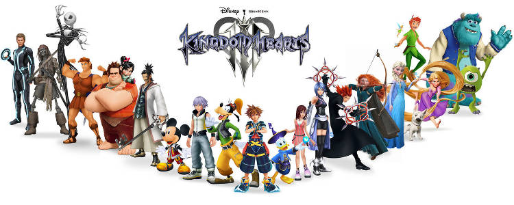 kingdom hearts 3 personalizacion
