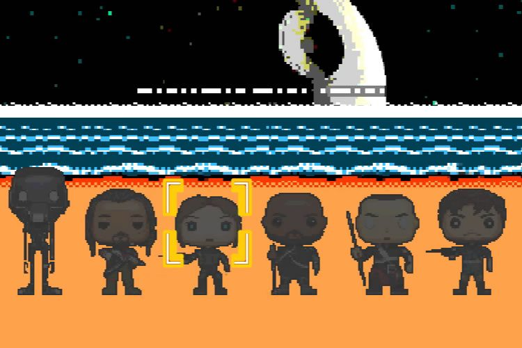 rogue one 8 bits