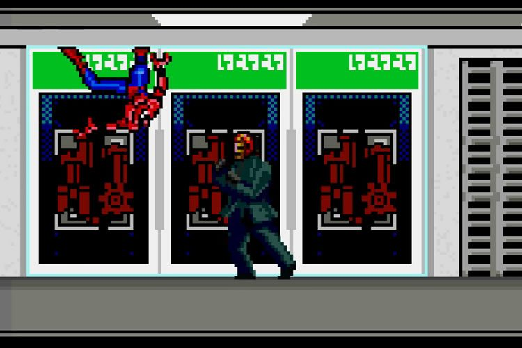 spider-man homecoming 8bits
