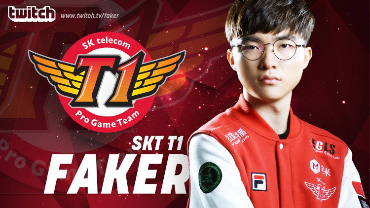 Faker, campeón de League of Legends, bate récord de Twitch
