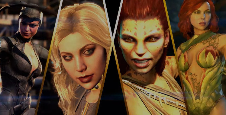 Injustice 2 mujeres