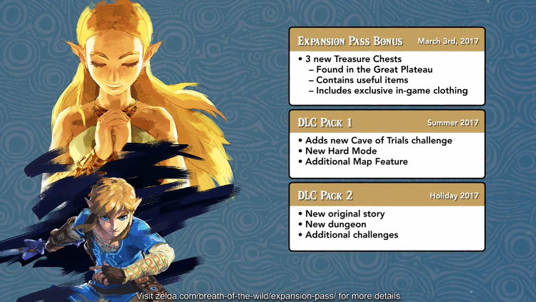 Nintendo DLC Zelda Breath of the Wild