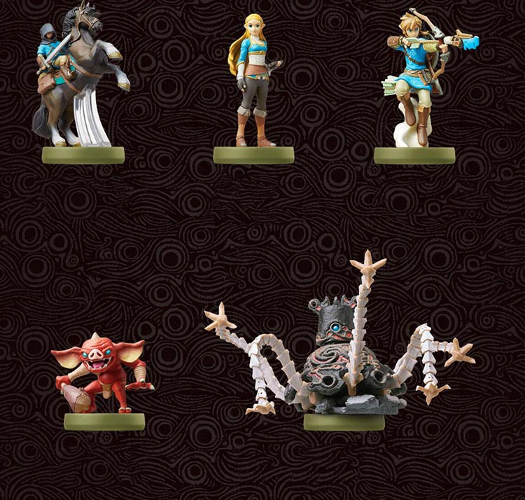 The Legend of Zelda Breath of the Wild función amiibo