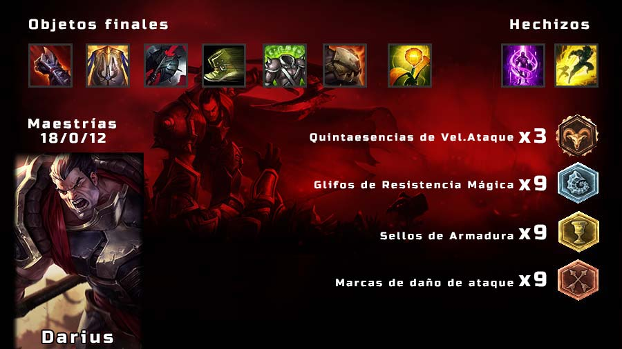 Darius Build Temporada 6