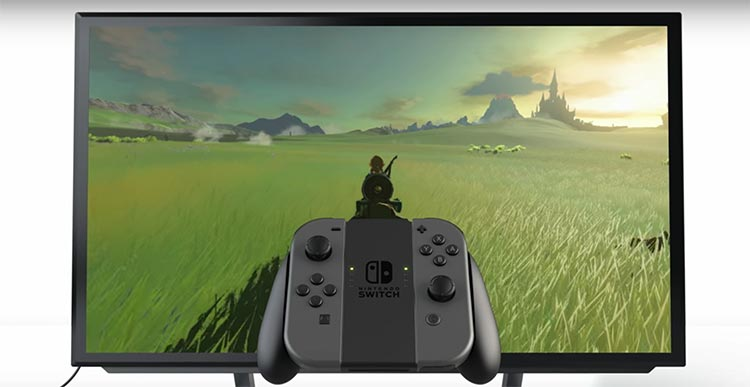 hardware Nintendo Switch modos de juego
