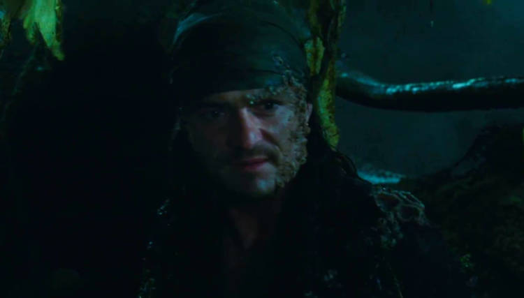 primer vistazo will turner piratas del caribe