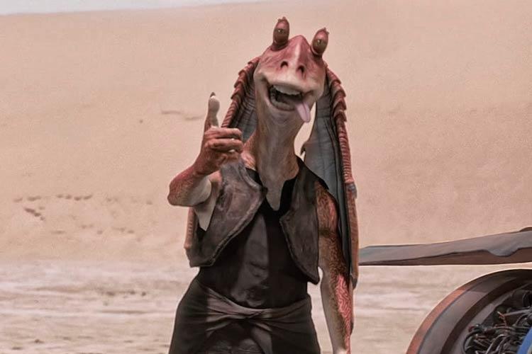 El deprimente destino de Jar Jar en Star Wars
