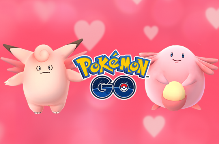 pokemon go evento san valentin