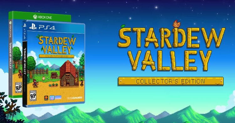 stardew valley version fisica ps4 xbox one