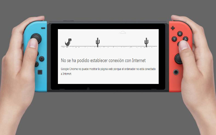 switch actualizacion online