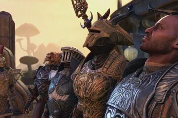 the elder scrolls online morrowind trailer gameplay