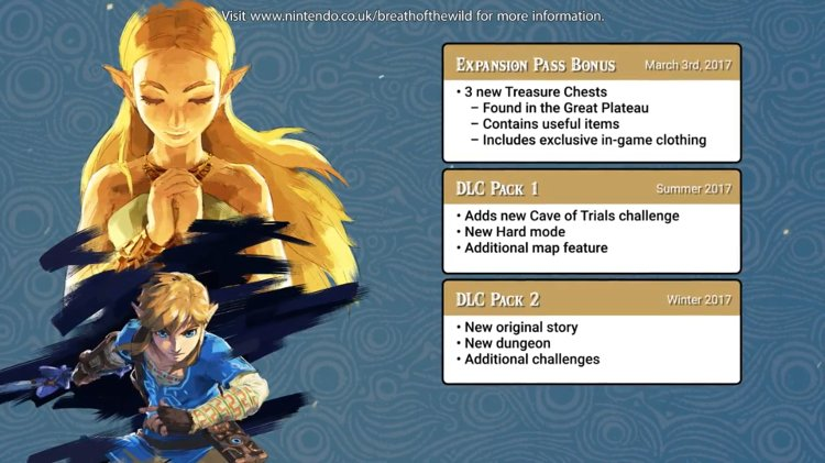 zelda breath of the wild dlc