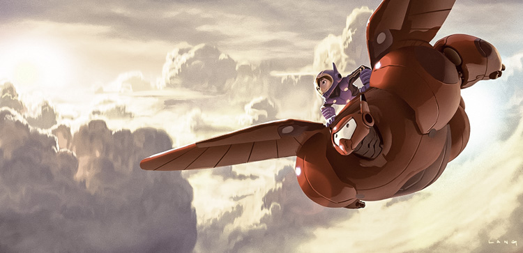 La serie de Big Hero 6 tendrá una segunda temporada