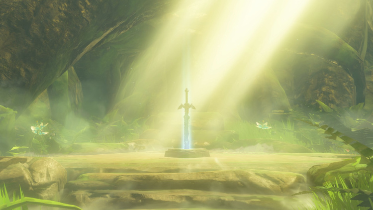 Zelda Breath of the Wild conseguir Espada Maestra