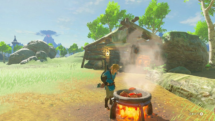 Zelda Breath of the Wild guía cocinar