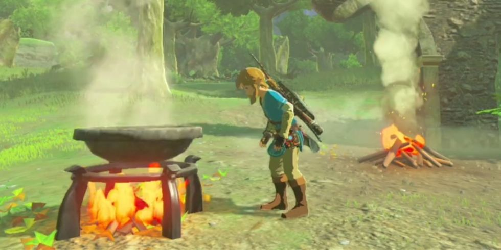 Zelda Breath of the Wild todos los platos
