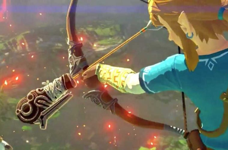 flechas bomba infinitas zelda breath of the wild
