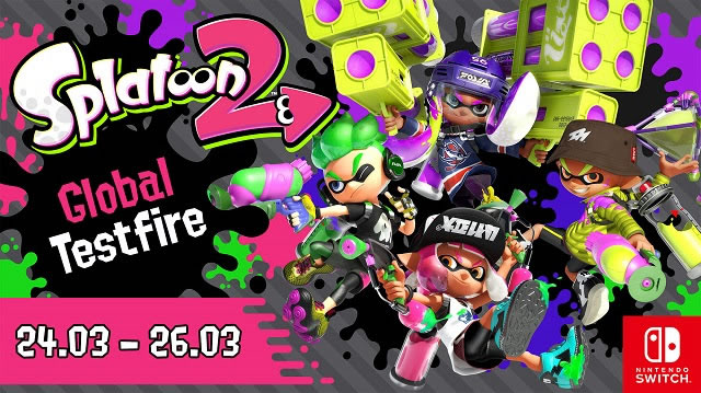 horarios de splatoon 2 global testfire