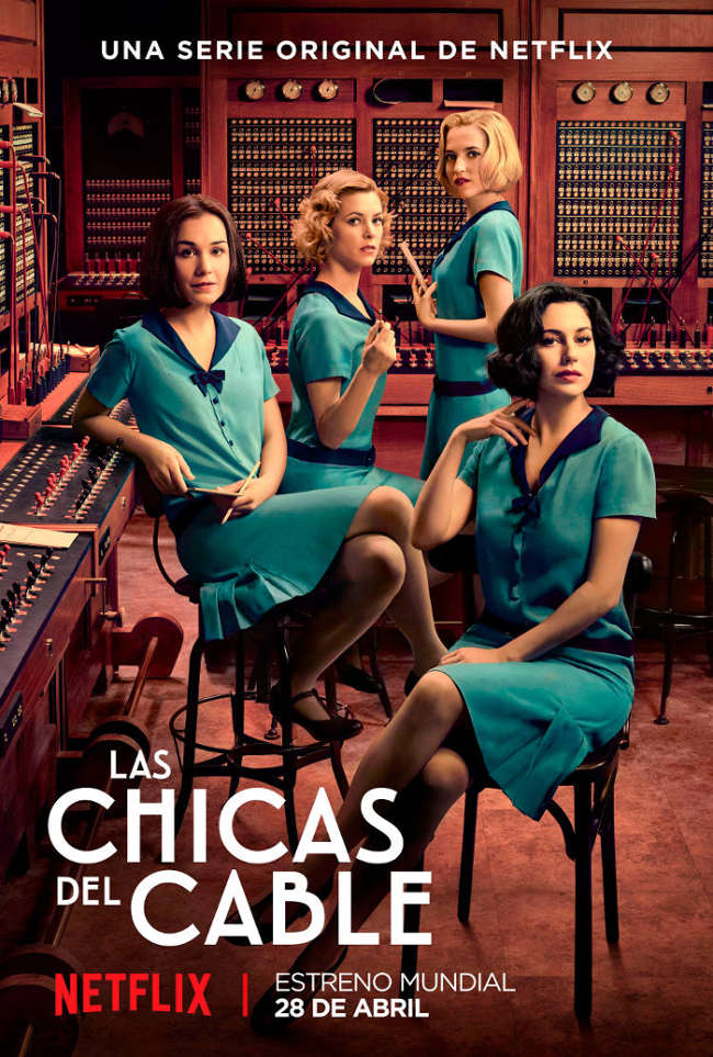 netflix chicas del cable poster