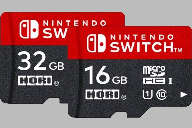nintendo switch micro sd