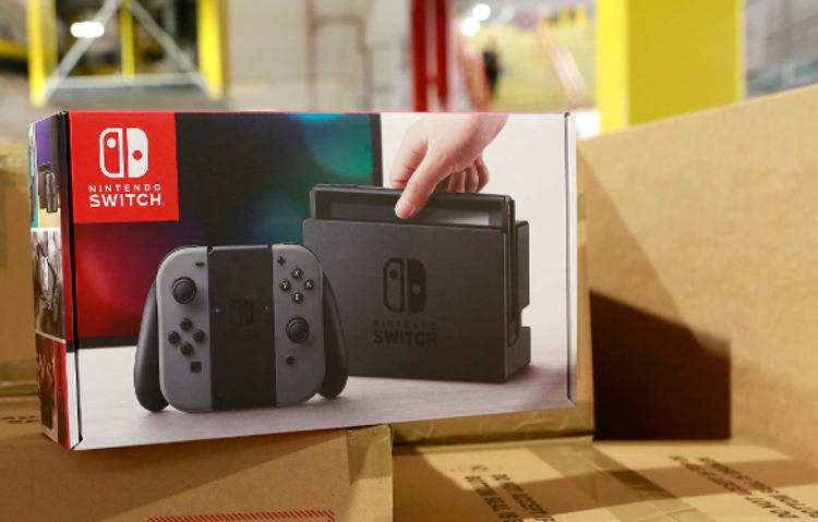nintendo switch reservas amazon