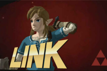 super smash bross link breath of the wild