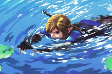 the legend of zelda link buceo