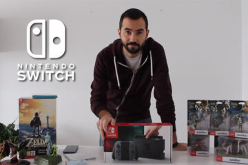 unboxing nintendo switch