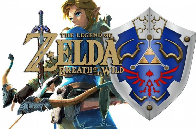 zelda breath of the wild localizacion escudo hyliano