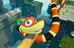 Enróscate en este gameplay de Snake Pass con sus primeros minutos