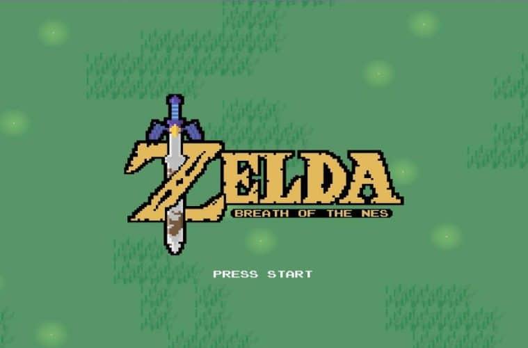 The Legend of Zelda Breath of the Wild en 2D 1