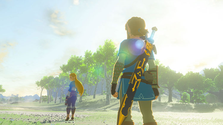 Zelda: breath of the Wild a 4K